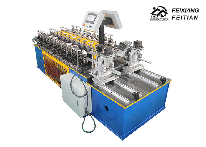 C U Channel Double Line Metal Stud And Track Roll Forming Machine For Industrial
