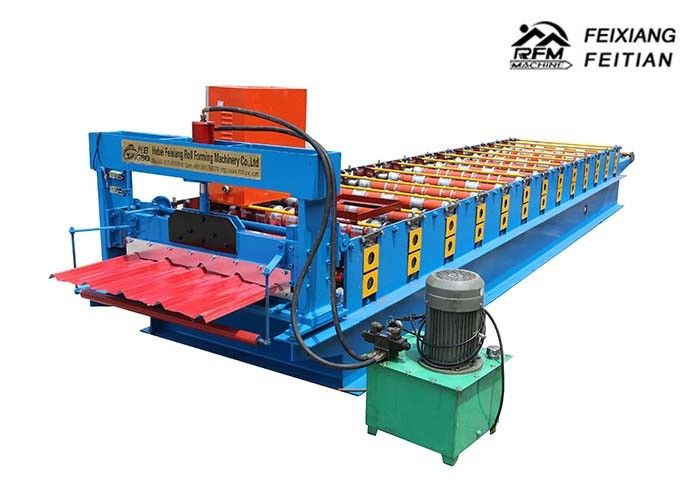 840 IBR Making Machine / Colour Coated Roofing Sheets Machinery For Roof Panel Material